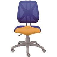 ALBA Fuxo modro/oranžová - Dětská židle