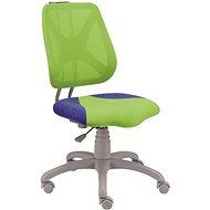 ALBA Fuxo zeleno/modrá - Rostoucí židle