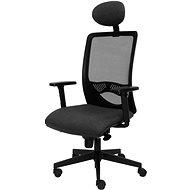 ALBA Duck černo/šedá - Kancelářská židle