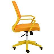 ALBA Merci žlutá - Kancelářská židle