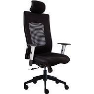 ALBA Lexa s podhlavníkem - černá - Kancelářská židle