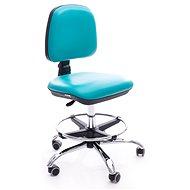ALBA Eko tyrkysová - Dílenská židle