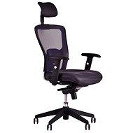 DIKE s podhlavníkem černá - Kancelářská židle