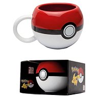 Abysse POKEMON Pokeball mug 3D - Hrnek