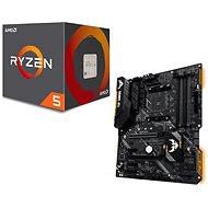 Akční balíček ASUS TUF B450-PLUS GAMING + CPU AMD RYZEN 5 2600