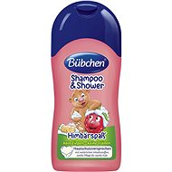 Bübchen Kids RASPBERRY Shampoo and Shower Gel - Children's Shampoo