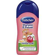 Bübchen Kids Šampon a sprchový gel MALINA 50ml