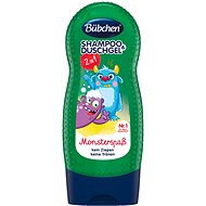 Bübchen Kids SEA MONSTOR Sea Shampoo & Shower Gel - Children's Shampoo