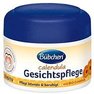 Dětský krém na obličej Bübchen Měsíčkový pleťový krém 75ml - Dětský krém na obličej