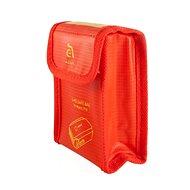 Adam FLEET - ohnivzdorný pytlík pro baterie DJI MavicPro - červený - Příslušenství