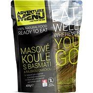 Adventure Menu - Masovo-rýžové koule s rajskou omáčkou