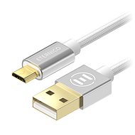 Eternico AluCore Micro USB 0.5m Silver - Datový kabel
