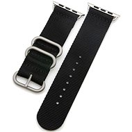 Eternico Apple Watch 38mm / 40mm Nylon Band černý - Řemínek