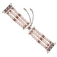 Eternico 38mm / 40mm Pearl Bracelet růžový pro Apple Watch - Řemínek