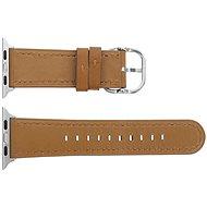 Eternico Apple Watch 38mm / 40mm Leather hnědý - Řemínek