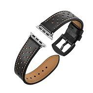 Eternico Apple Watch 38mm / 40mm Leather Band černý - Řemínek