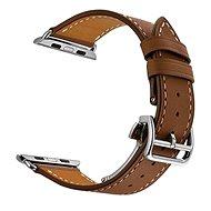 Eternico Apple Watch 38mm / 40mm Leather Strap hnědý - Řemínek