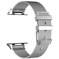 Eternico Apple Watch 38mm / 40mm Mesh Metal Band stříbrný - Řemínek