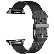 Eternico Apple Watch 38mm / 40mm Mesh Metal Band černý - Řemínek