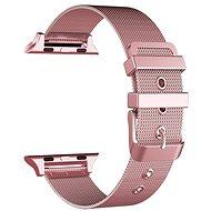 Eternico Apple Watch 42mm / 44mm Mesh Metal Band růžový - Řemínek