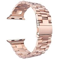 Eternico 42mm Apple Watch Steel Band, Rose Gold - Watch band