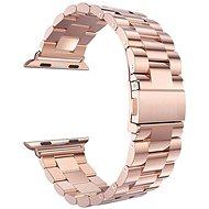 Eternico Apple Watch 42mm / 44mm Steel Band růžovo zlatý - Řemínek