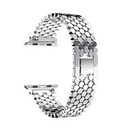 Eternico Apple Watch 38mm / 40mm Metal Band stříbrný - Řemínek
