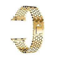 Eternico 42mm / 44mm Metal Band zlatý pro Apple Watch - Řemínek