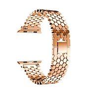 Eternico 42mm / 44mm Metal Band růžovo zlatý pro Apple Watch - Řemínek