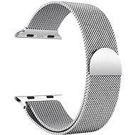 Eternico Apple Watch 42mm / 44mm Milanese stříbrný - Řemínek