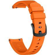 Eternico Garmin Quick Release 20 Silicone Band oranžový