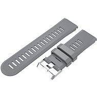Eternico Garmin Quick Release 26 Silicone Band Silicone Silver Buckle šedý