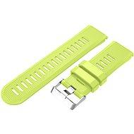 Eternico Garmin Quick Release 26 Silicone Band Silicone Silver Buckle limetkový
