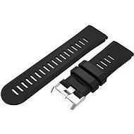 Eternico Garmin Quick Release 26 Silicone Band Silicone Silver Buckle černý