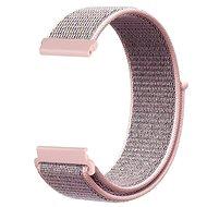 Řemínek Eternico Nylon Band růžový pro Garmin 20