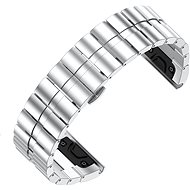 Eternico Garmin QuickFit 26 Stainless Steel Band Steel Plating stříbrný pro Garmin QuickFit 26 - Řemínek