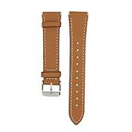 Eternico Garmin Quick Release 18 Genuine Leather hnědý