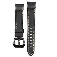 Eternico Garmin Quick Release 22 Genuine Leather černý