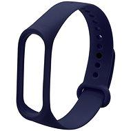 Eternico Mi Band 3 / 4 Basic tmavě modrý - Řemínek