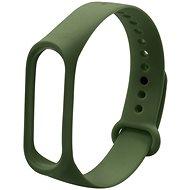 Eternico Mi Band 3 / 4 Basic olivově zelený - Řemínek