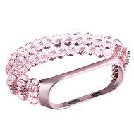 Eternico Mi Band 3 / 4 Crystal růžový - Řemínek