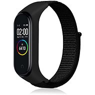 Eternico Mi Band 3 / 4 Nylon, Black - Watch band