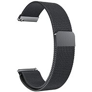Eternico Samsung Quick Release 20 Milanese Band, Black - Watch band