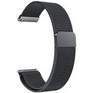 Eternico Quick Release 22 Milanese Band černý pro Samsung Galaxy Watch - Řemínek