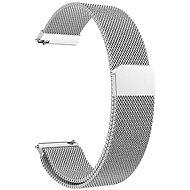 Řemínek Eternico Quick Release 22 Milanese Band stříbrný pro Samsung Galaxy Watch