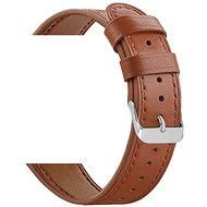 Eternico Quick Release 22 Leather Band hnědý pro Samsung Galaxy Watch - Řemínek