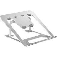 Chladící podložka pod notebook AlzaErgo Stand LS120 stříbrný