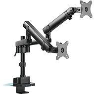 Držák na monitor AlzaErgo Arm D85B Essential USB