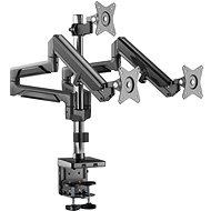 AlzaErgo Arm T130B Premium USB vesmírně černý - Držák na monitor