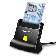 AXAGON CRE-SM2 Smart card & SD / microSD / SIM card - Čtečka karet